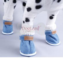 Suprimentos para Animais de Estimação Botas Pequenas Botas de Inverno para Botas de Neve Bootie
