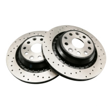 OEM Custom CNC machined auto car spare parts brake disc with r90 certificate