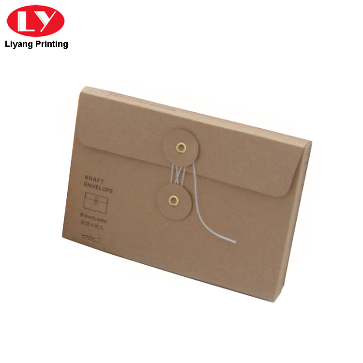 Envelope With Round Button