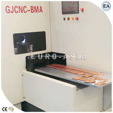 CNC Bus Arc Chamfering Milling Machine for Copper