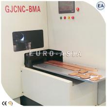 Fresadora de biselado de arco de bus CNC para cobre