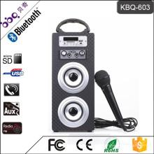 BBQ KBQ-603 10 Watt 1200 mAh Bluetooth Mini Subwoofer Lautsprecher