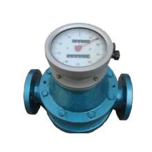 Medidor de fluxo de fluxo de fluxo positivo-medidor de fluxo oval