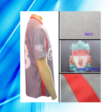 100% Polyester Man′s Short Sleeve Soccer Wear