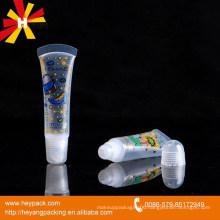 mini lovely plastic lip gloss tube squeezer