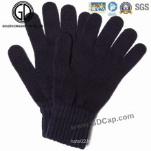 Classical Simple Winter Fashion Warm Knitted Gloves