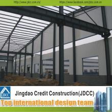 Fabricación y montaje de taller prefabricado de bajo costo Jdcc1048