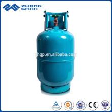 Bouteille de gaz GPL de 12,5 kg pour la maison utilisée
