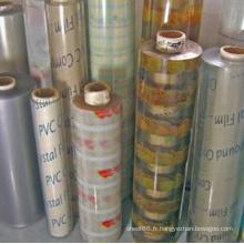 Feuille de PVC souple transparente super claire