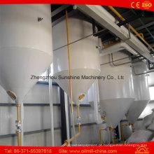 Máquina de refinação de óleo bruto de semente de algodão 30t / D