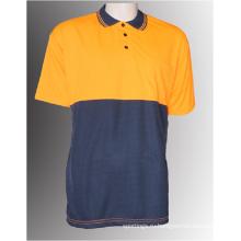 Мужская защитная рубашка-поло с коротким рукавом