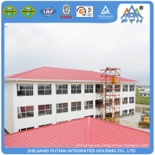 Cheap prefabricated steel structure villa luxury house for sale