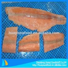 Filet de saumon congelé dans le poisson avec fournisseur de haute qualité