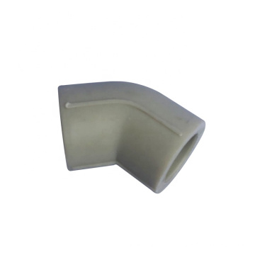 Plumbing Materials Plastic Fittings Ppr Pipe Pvc 45 Degree Equal Elbow