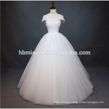 Luxury Sleeves Heavy Beaded Embroidery China guangzhou wedding dress