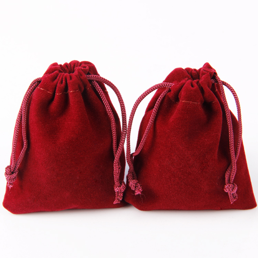wholesale velvet bag velour jewelry pouch