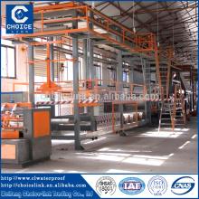 2 million per year modified bitumen membrane production line