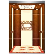 Aksen Mirror Etched Machine Room Passenger Elevator J0335