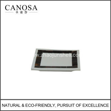 Natural Pen Shell Mosaic Soap Dishes for Luxury Hotels