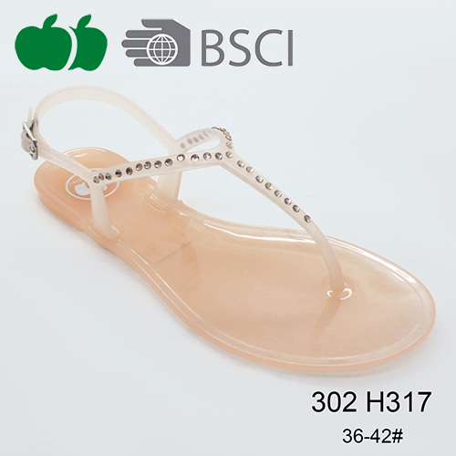 summer fashion pvc sandals