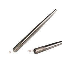 Ручка Tebori для перманентного макияжа из нержавеющей стали Microblading Pen