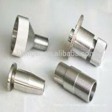 Peças de alumínio da máquina de trituração cnc / vertical peças de máquinas de moagem / fresagem cnc mini peças da máquina