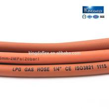 Износостойкий газовая плита гибкий СУГ гладкий резиновый шланг 20бар