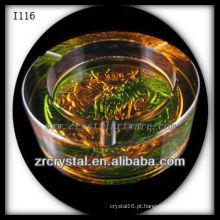 K9 Cinzeiro Cristal e Esmalte Colorido