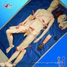 Formulário avançado de traumatismo e enfermagem ISO