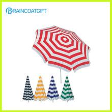 Полоса пользовательского бренд моды печатных пляжный зонтик