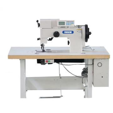 Máquina de costura decorativa decorativa de couro do ponto