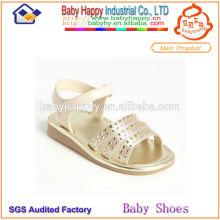 Chaussures en cristal à talons hauts pour sandales enfant