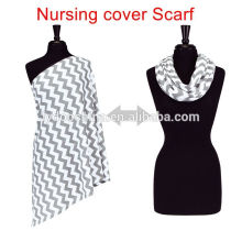 Infinito amamentação lenço de cobertura de enfermagem do bebê