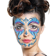 High-grade customized non-toxic face mask tattoo sticker