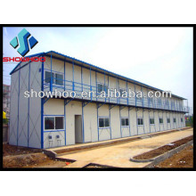 China Light Steel prefab modular guest house