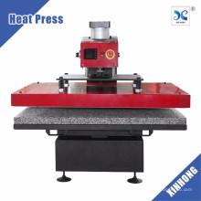Alibaba Top Venda XINHONG Pneumatic High Pressure 75x105mm T-shirt Heat Press Machine