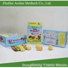 Fortalecimento de Biscoitos Vitamínicos