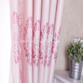 100% Polyester Black Yarn Jacquard Blackout Window Curtain