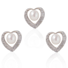 Ensemble de bijoux en perles d'argent, bijoux pour bijoux en perles