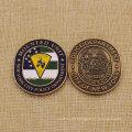 Custom Metal City New York Police Challenge Coin for Sale