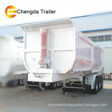 3 Axle 40ton Hydraulic U Shape Dump Trailers