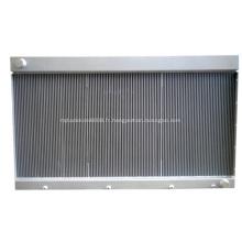 Échangeur de chaleur à plaques et à ailettes hautement efficace pour compresseur GNC