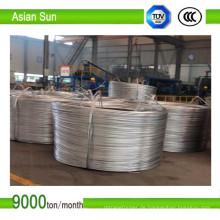 9,5 mm blanke Aluminium Anschluss elektrischer Draht