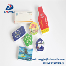2018 China Supplier wholesale promotion compressed towel with logo