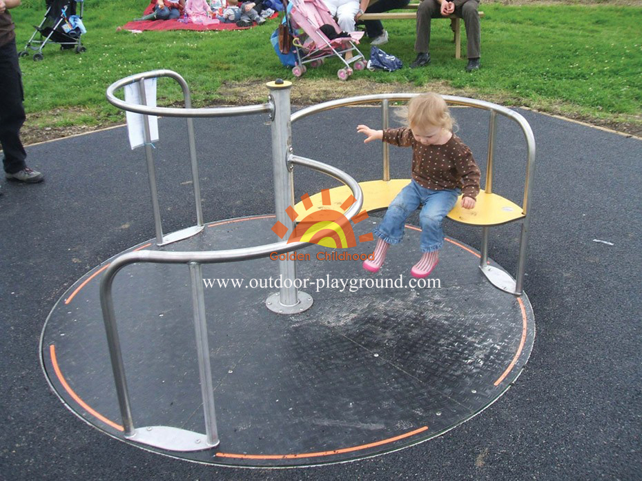 Outdoor Park Playground Roundabout