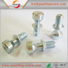 China por mayor productos aceros especiales cabeza tornillo moleteado