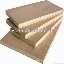 Contrachapado de madera dura de alta calidad de 18 mm, contrachapado comercial