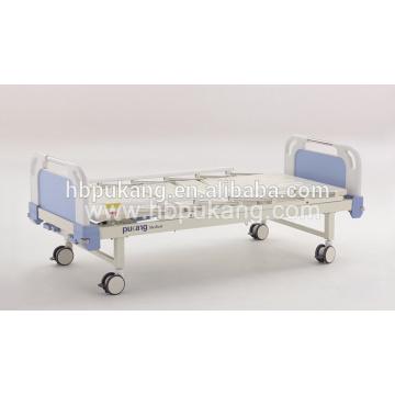 Lit d'hôpital manuel de 2 manivelles pour équipement hospitalier en provenance de Chine