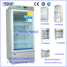 Thr-Mr120 2 ~ 8 ° C Медицинский фармацевтический холодильник