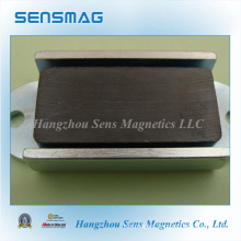 Permanent Channel Magnetic Assembly (Ceramic magnet) Magnetic Material